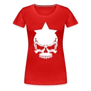 Drama Queen Star-Skull T-Shirt - Frauen Premium T-Shirt