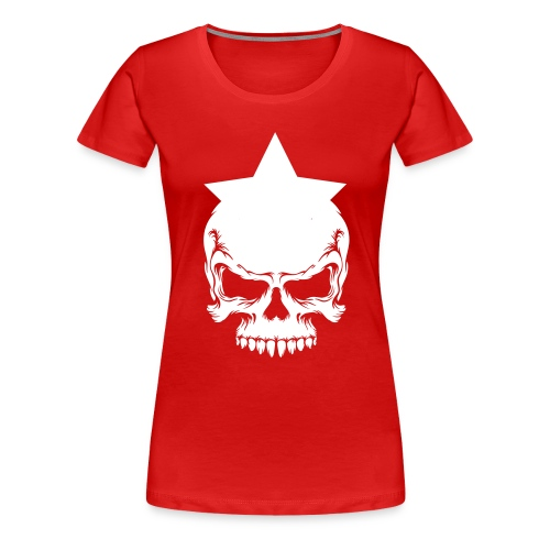 Drama Queen Star-Skull T-Shirt - Frauen Premium T-Shirt
