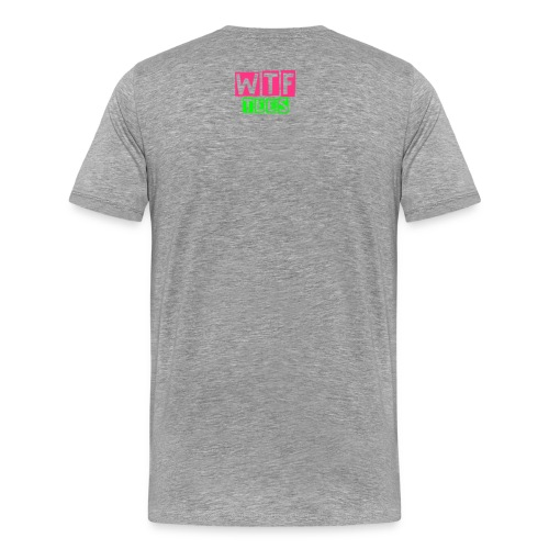 Mens Slogan T-shirt Pink is the new Black,  - Men's Premium T-Shirt