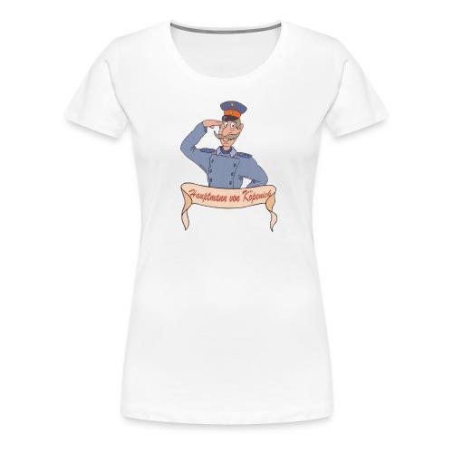 Girlishirt-Hauptmann - Frauen Premium T-Shirt