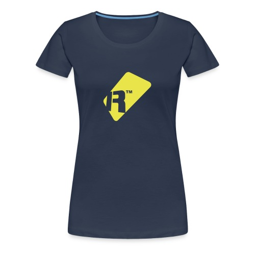 Girlie T-Shirt - Yellow Renoise Tag - Women's Premium T-Shirt