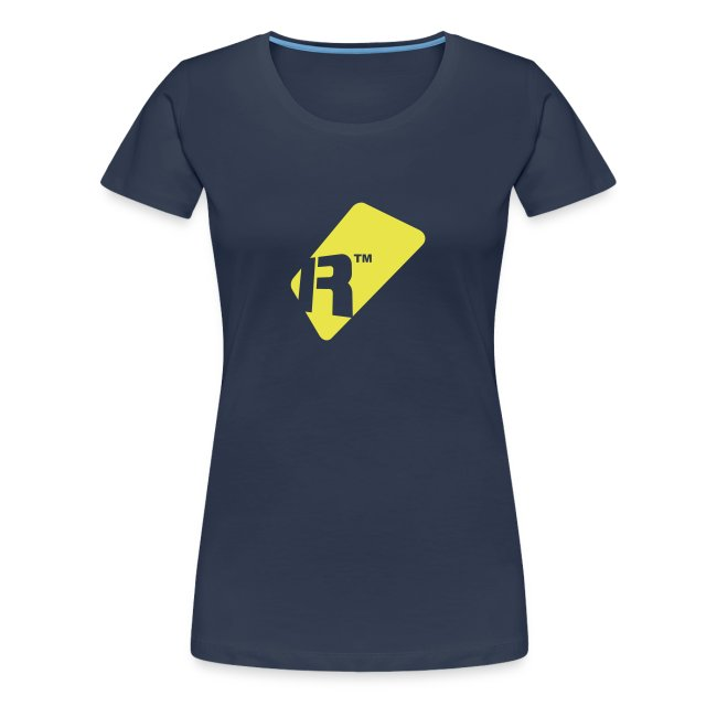 Girlie T-Shirt - Yellow Renoise Tag