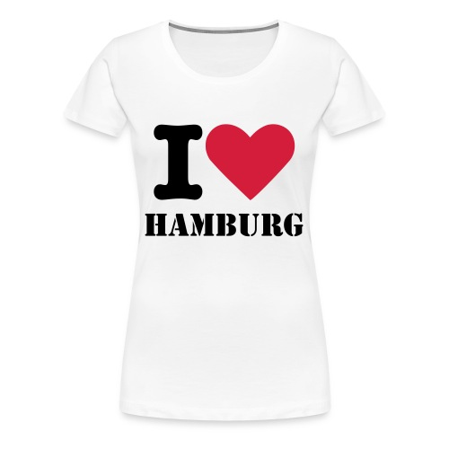 I love Hamburg Shirt - Frauen Premium T-Shirt