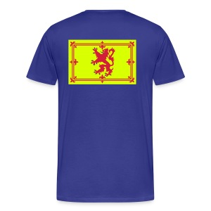 Men's Scottish T-Shirt Where's Your Troosers - Men's Premium T-Shirt