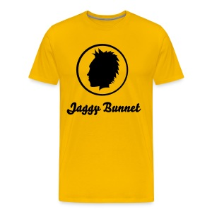 Men's Scottish T-Shirt Jaggy Bunnet - Men's Premium T-Shirt