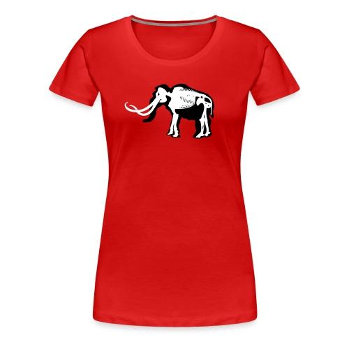 Mammut, dame - Premium T-skjorte for kvinner