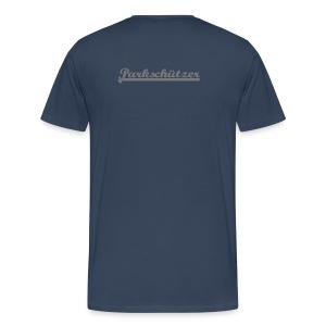 Männer Übergroßenshirt - Männer Premium T-Shirt
