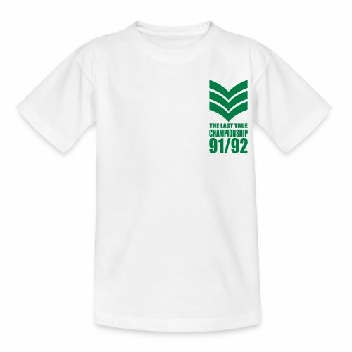 SGT. - LAST TRUE CHAMPIONSHIP - LEEDS SALUTE PLACEMENT - Teenage T-Shirt