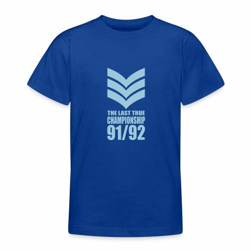 SGT. - LAST TRUE CHAMPIONSHIP - Teenage T-Shirt