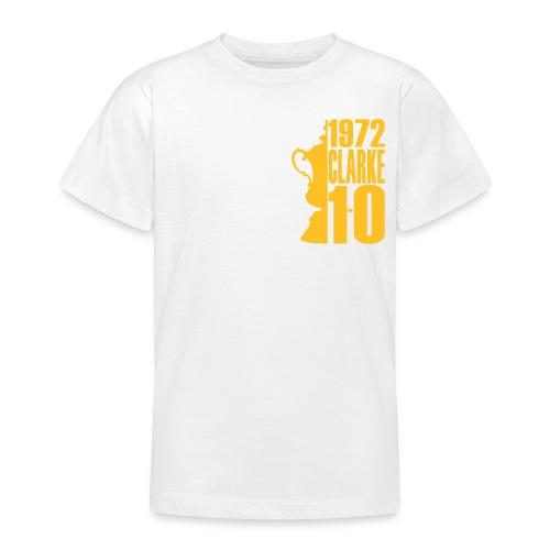 1972 - CLARKE - 1.0 - LEEDS SALUTE PLACEMENT - Teenage T-shirt