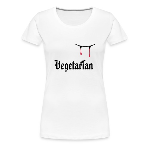 Vegetarier - Frauen Premium T-Shirt