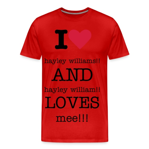 hayley williams range - Men's Premium T-Shirt