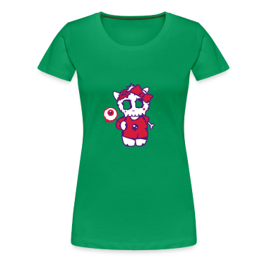 Clover green Sugar Zombie with eye candy Women's T-Shirts