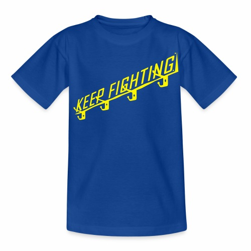 KEEP FIGHTING - DONS DRESSING ROOM SIGN - Teenage T-Shirt