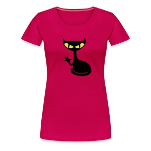 Catfight - rubin girlieshirt1 - Frauen Premium T-Shirt