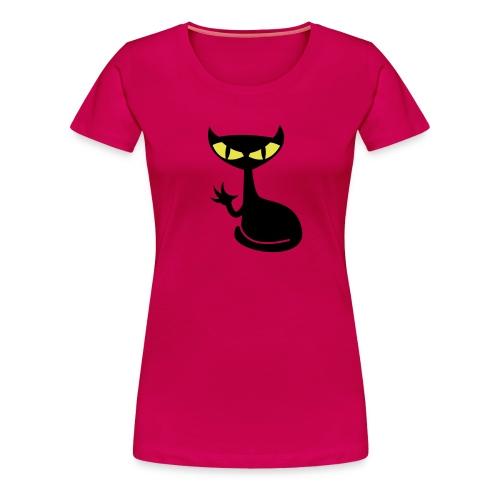 Catfight - rubin girlieshirt1 - Frauen Premium T-Shirt