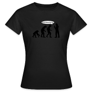 T-shirts ~ Vrouwen T-shirt ~ Stop Following Me!