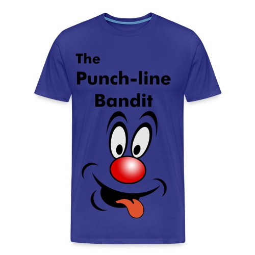 The Punchline bandit - Men's Premium T-Shirt