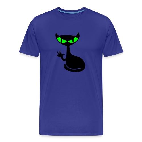 Catfight - divablau shirt - Männer Premium T-Shirt