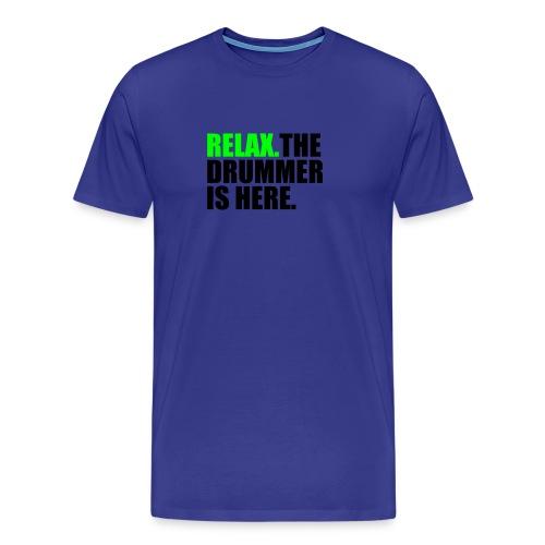 Drummer - Mannen Premium T-shirt
