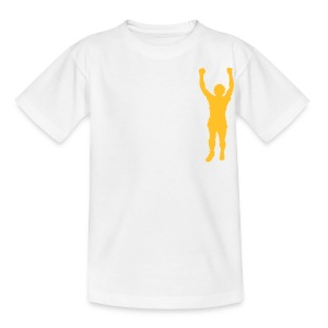 BILLY STATUE - LEEDS SALUTE PLACEMENT - Teenage T-shirt