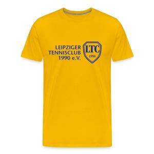 LOGO Shirt Sverige gelb - Männer Premium T-Shirt