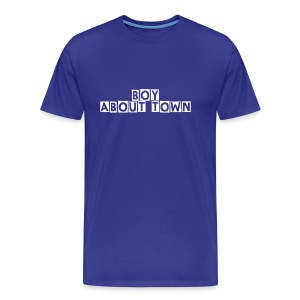 BOY ABOUT TOWN - Men's Premium T-Shirt