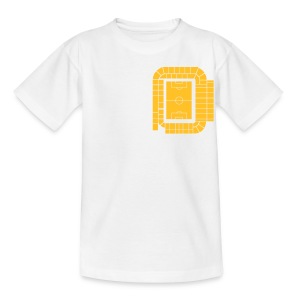 ACTUAL STADIUM PLAN - LEEDS SALUTE PLACEMENT - Teenage T-shirt