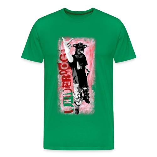 Underdog - khaki shirt - Männer Premium T-Shirt
