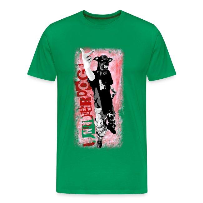 Underdog - khaki shirt