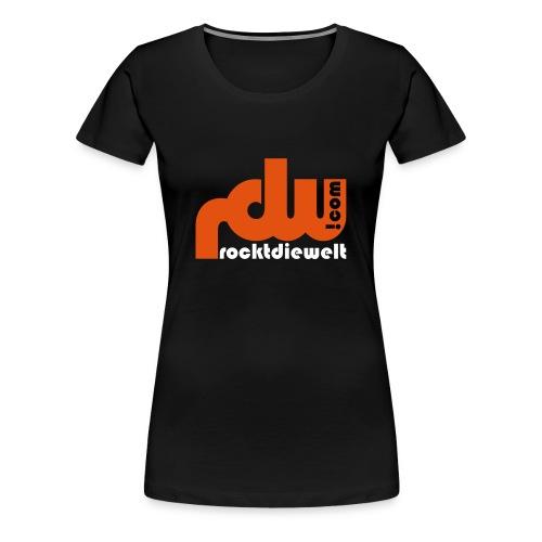 Girlieshirt klassisch - rdw Logo - Frauen Premium T-Shirt