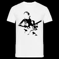 Camisetas ~ Camiseta hombre ~ Guitar Custom Beige