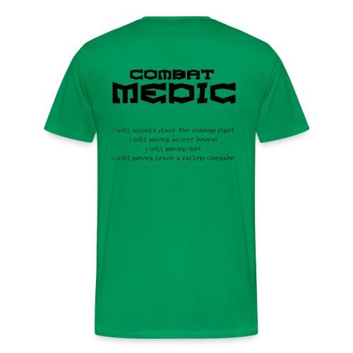 Combat medic T-tröja - Premium-T-shirt herr