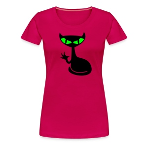Catfight - pink girlie - Frauen Premium T-Shirt