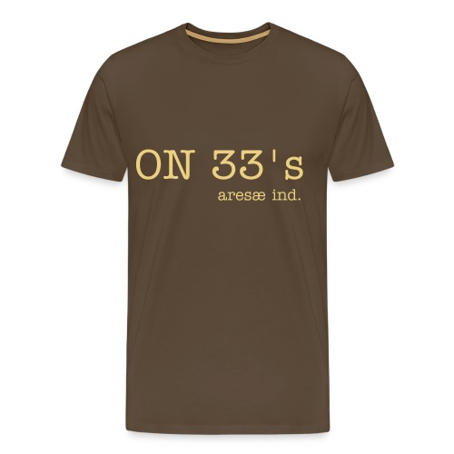 on33's - Men's Premium T-Shirt