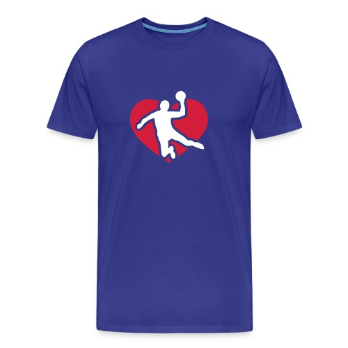 Love Handball (boys) - Männer Premium T-Shirt