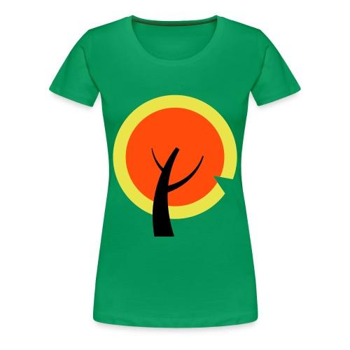 sol-træet - Dame premium T-shirt