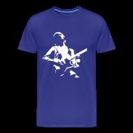 Camisetas ~ Camiseta premium hombre ~ Guitar Custom Blue