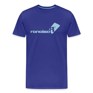 Men's T-Shirt - Light Blue Renoise Logo - Men's Premium T-Shirt