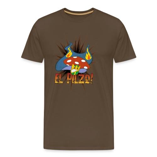 Wrestling El Pilzo - Männershirt - Männer Premium T-Shirt