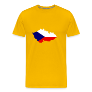 T-shirts ~ Mannen Premium T-shirt ~ Tsjechische Republiek