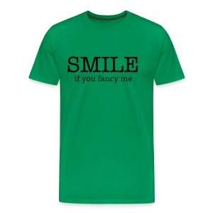 Smile if you fancy me! - Men's Premium T-Shirt