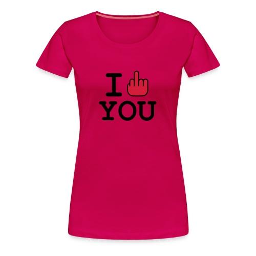 tee shirt fuck - T-shirt Premium Femme