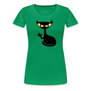 Catfight - green girlie - Frauen Premium T-Shirt