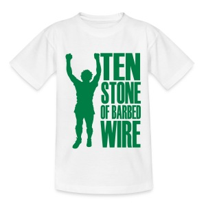 BILLY STATUE - TEN STONE OF BARBED WIRE - Teenage T-shirt