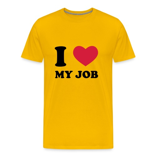 I Love My Job Anim - T-shirt Premium Homme