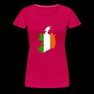 T-shirts ~ Vrouwen Premium T-shirt ~ Ierland