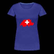 T-shirts ~ Vrouwen Premium T-shirt ~ Zwitserland