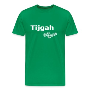 Mannen: Tijgah - Mannen Premium T-shirt