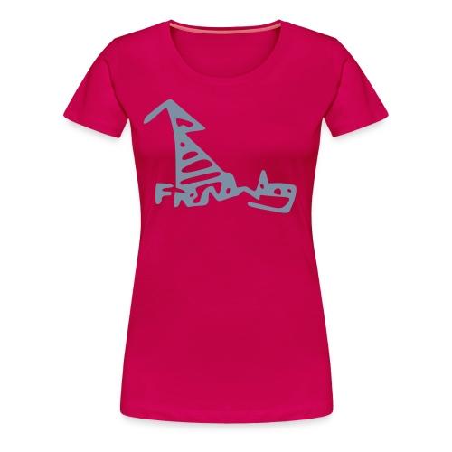 French Dog Women's Classic T-Shirt - Women's Premium T-Shirt